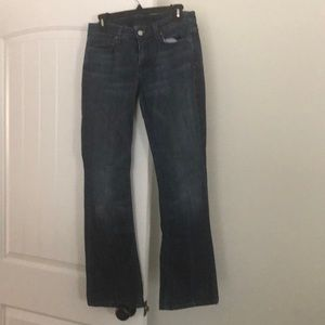 7 For All Mankind Bootleg Jeans Size 28